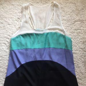 Jessica Simpson Racerback Colorblock Dress